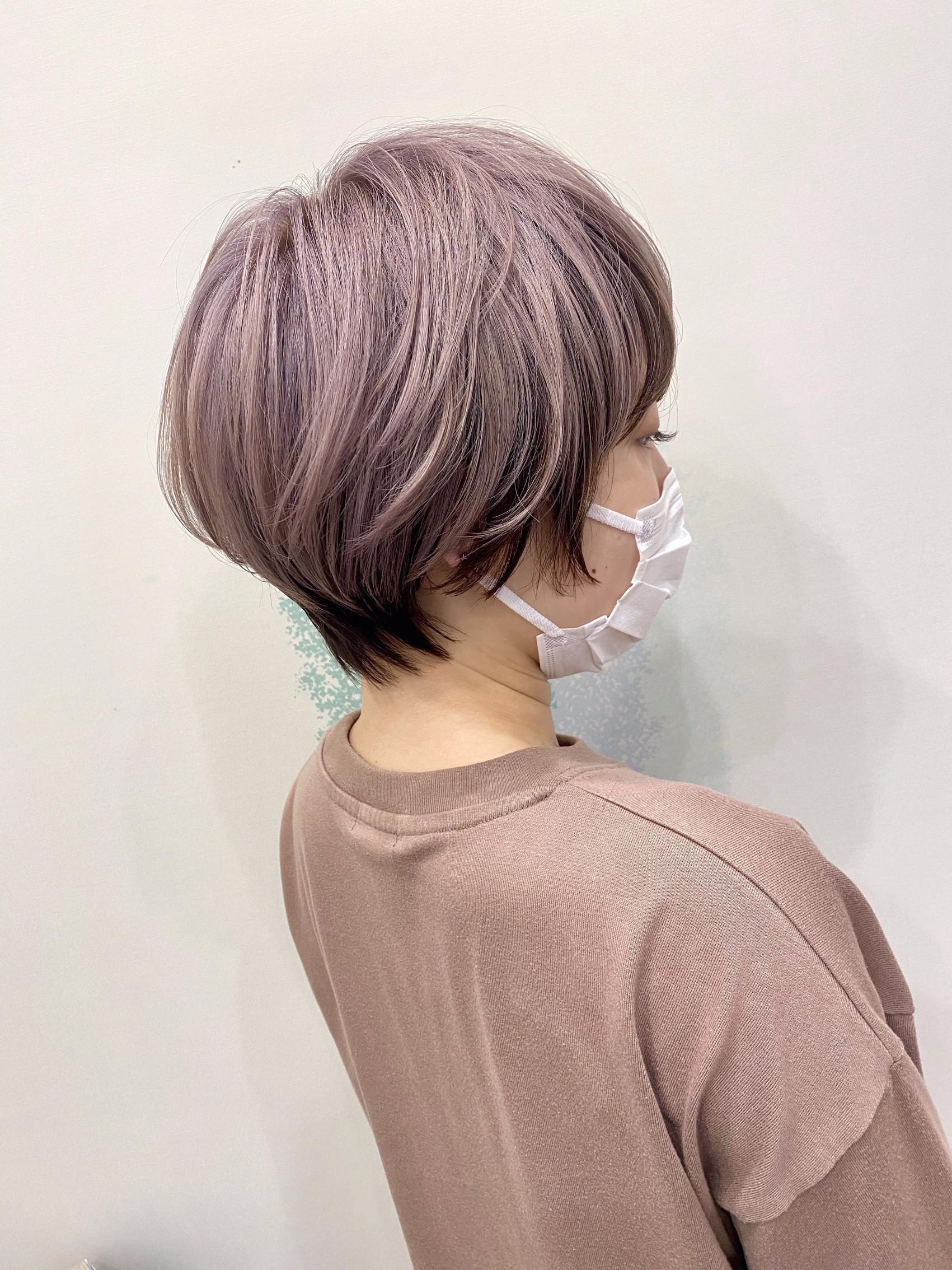 Purple  silver  colorの写真