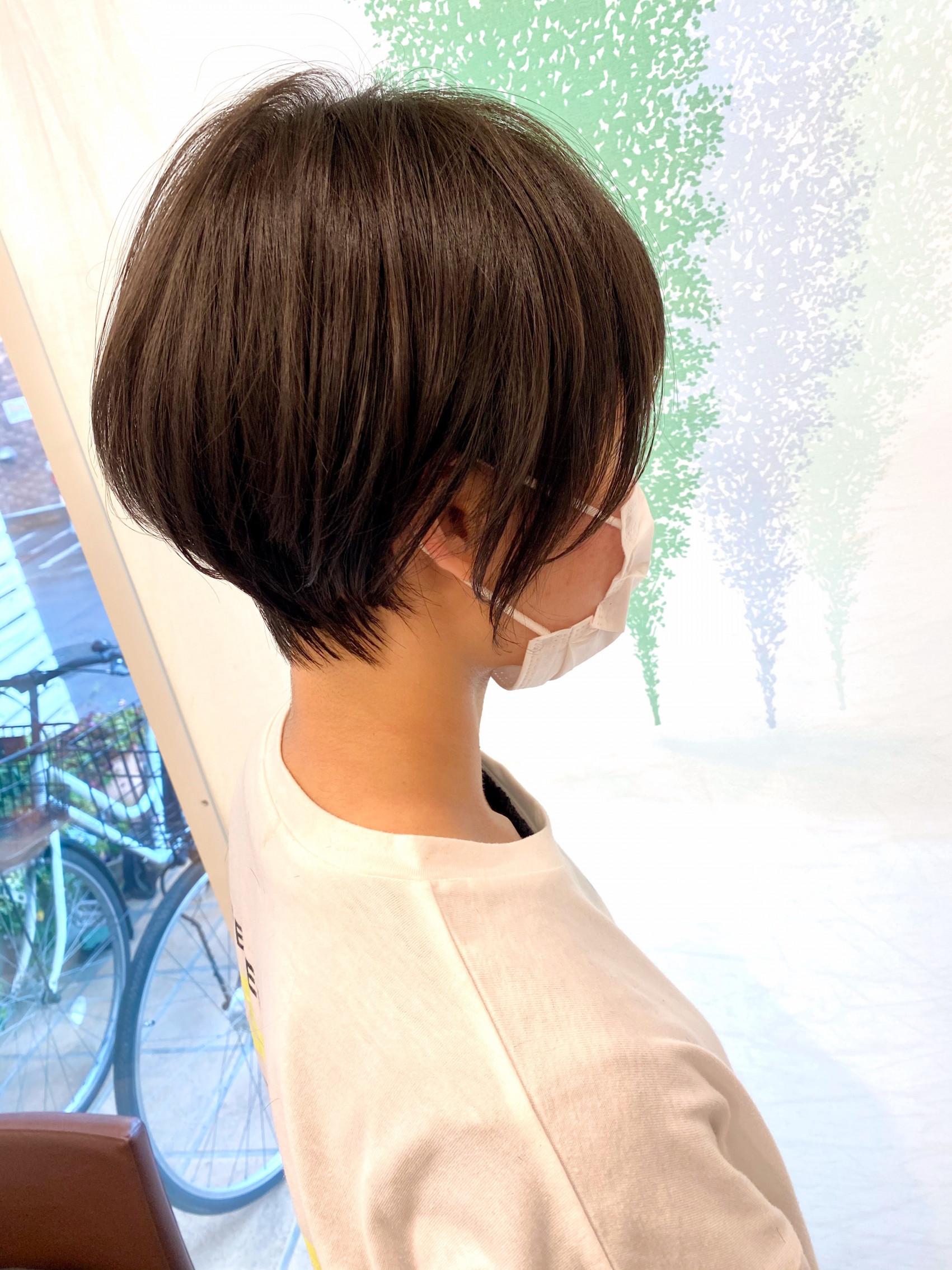 short  hairの写真