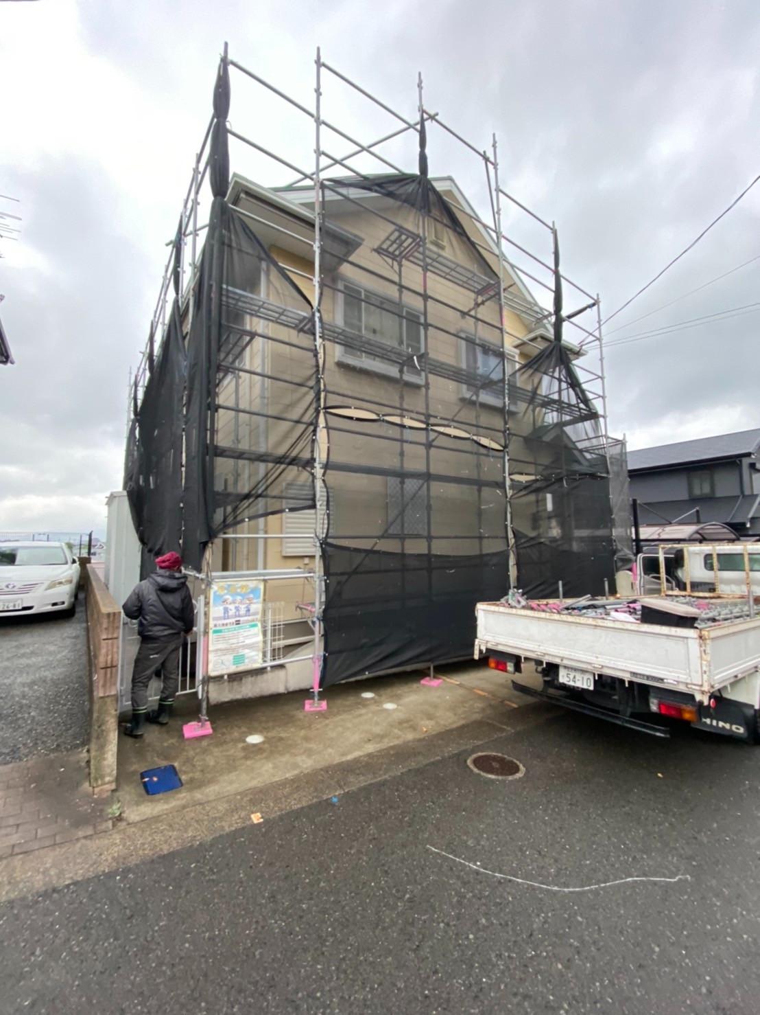 2021/5 北九州市若松区 外部足場工事,Before画像