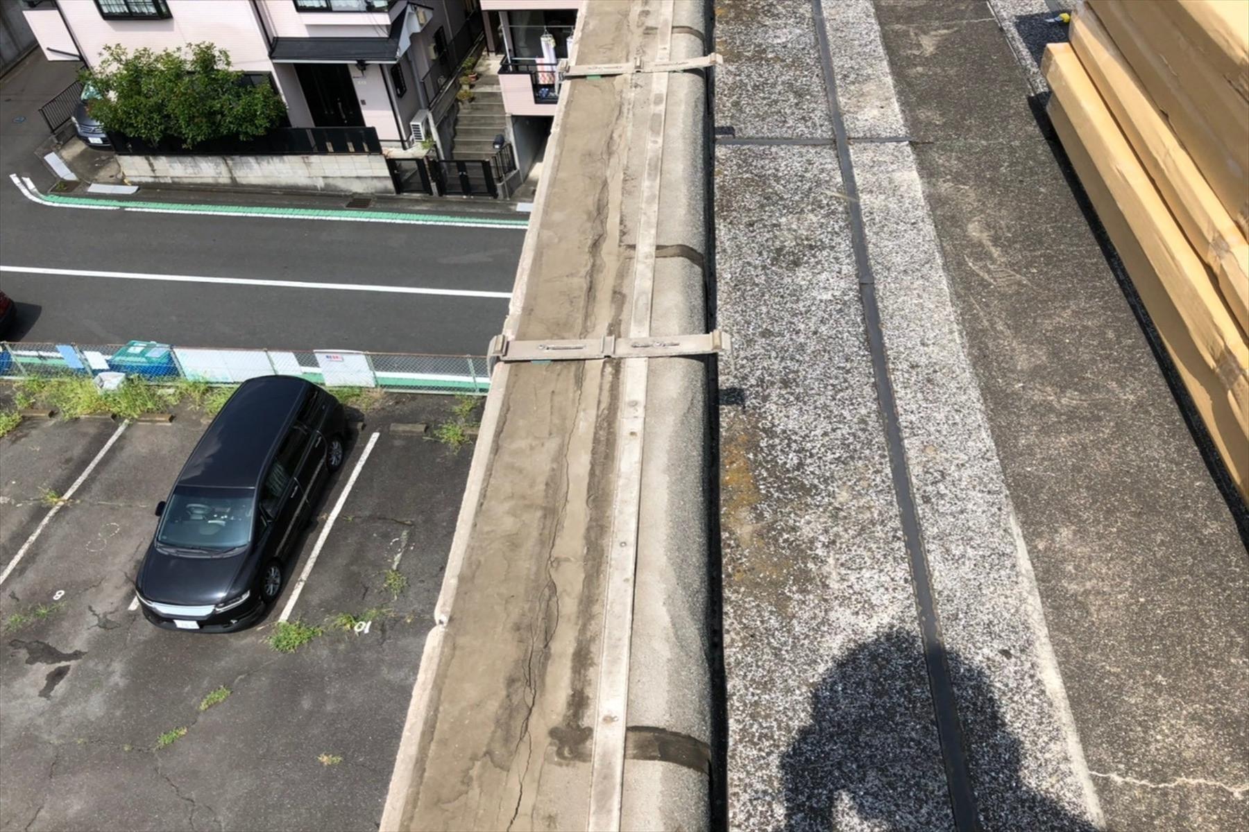 藤沢市 雨漏りにおける笠木交換工事画像11