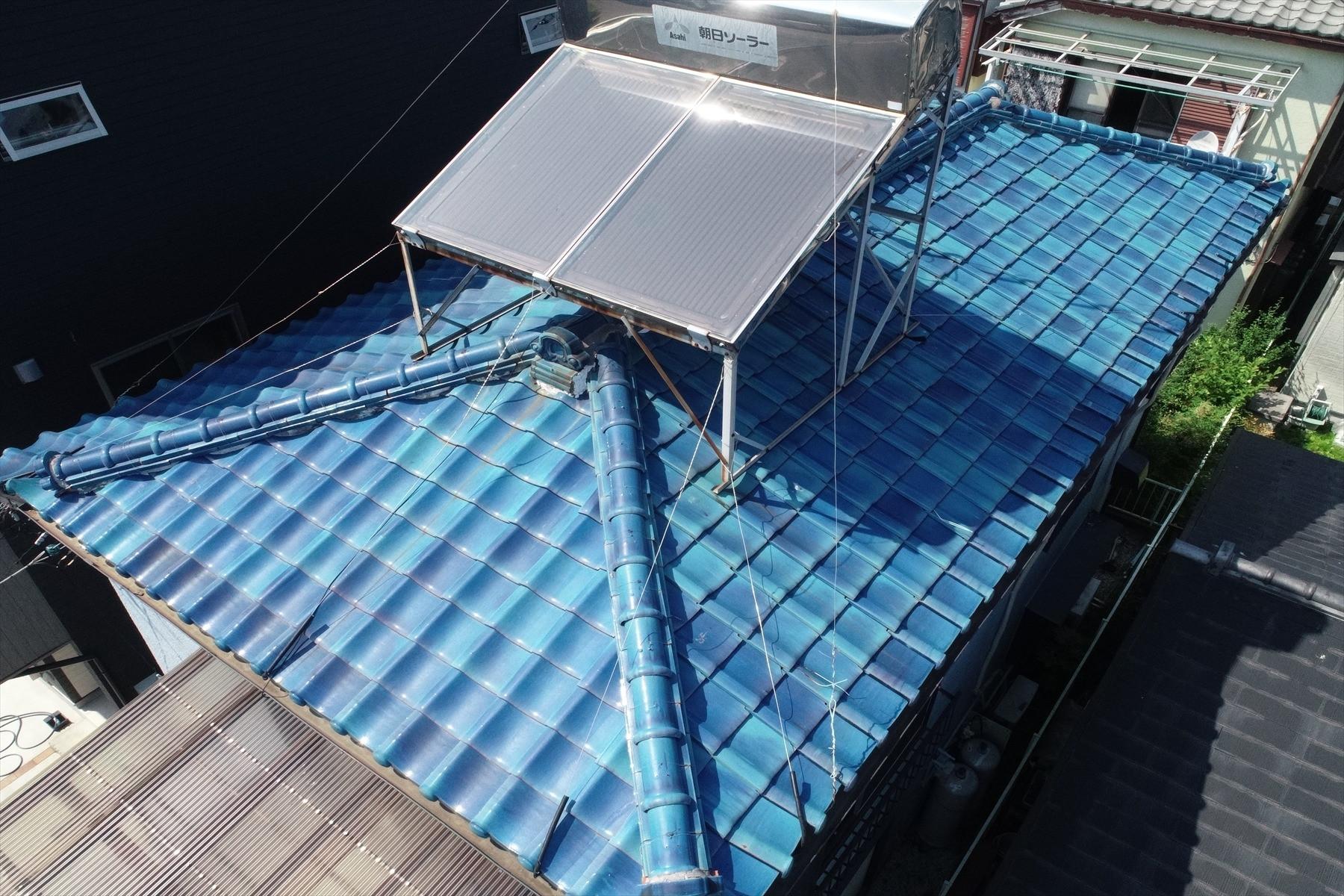 寒川町 屋根葺き替え工事画像2