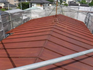 海老名市 屋根塗装工事画像10
