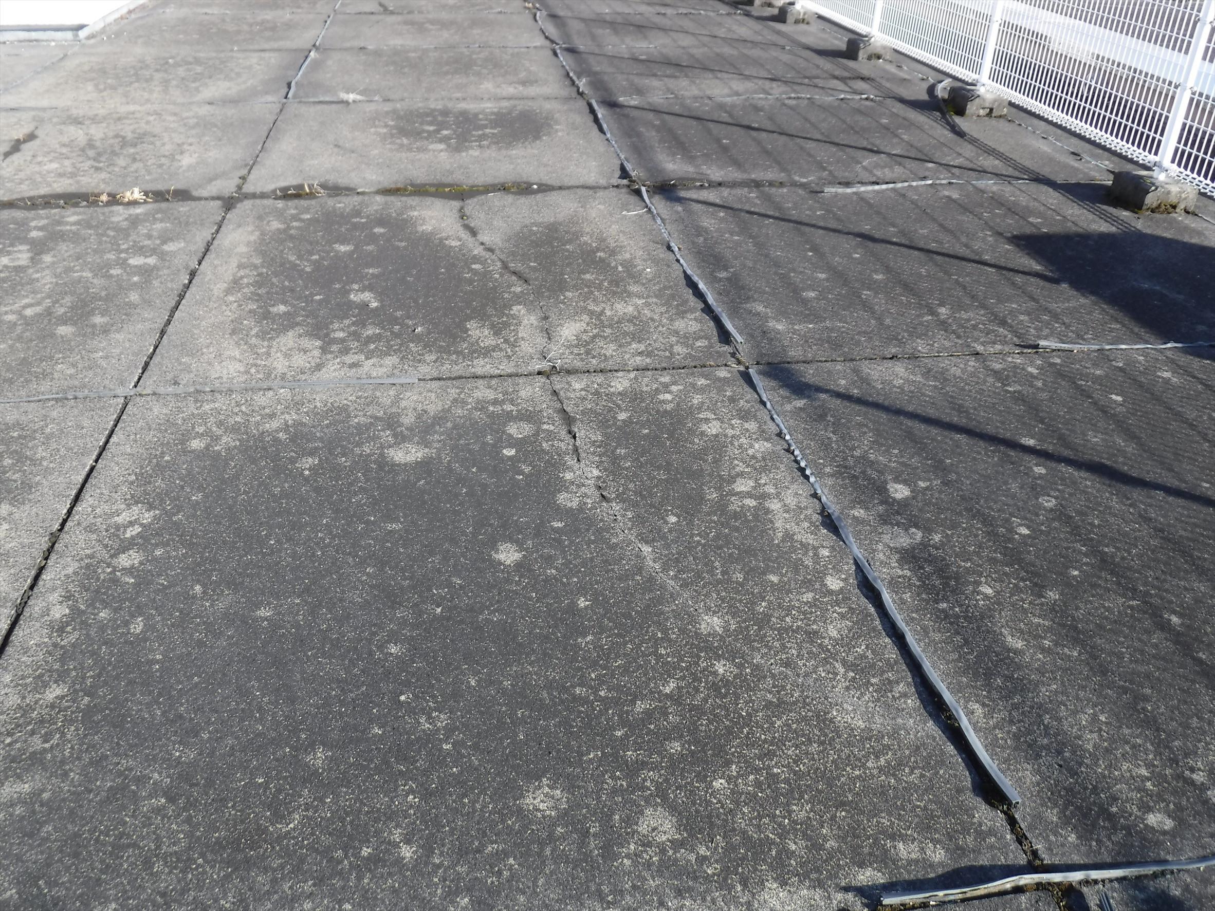平塚市 雨漏りによる屋上防水画像1