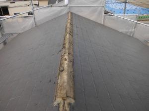 平塚市 屋根葺き替えディプロマットスターでカバー工事実施画像0