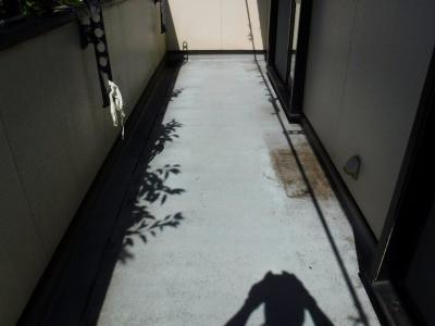 海老名市でベランダ防水工事実施画像9