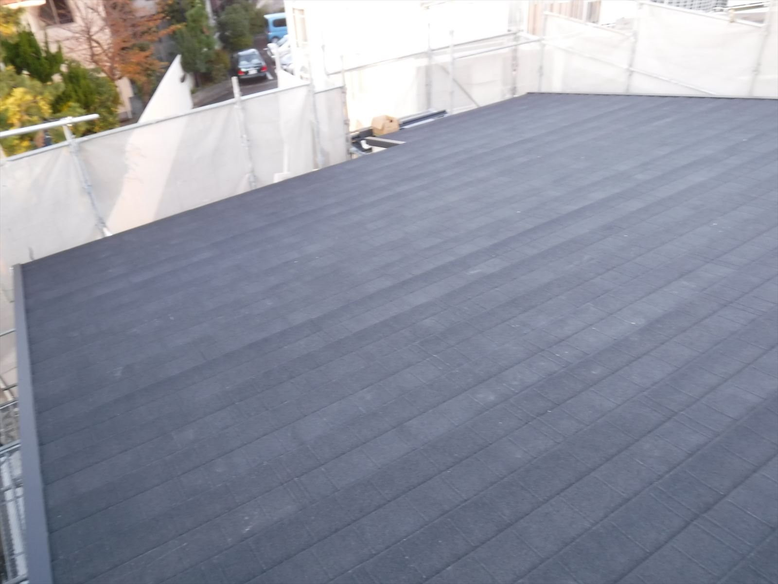 茅ヶ崎市 雨漏りによる屋根工事(カバー工法)画像1