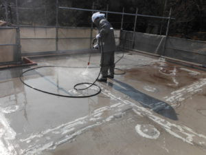 静岡県熱海市 屋上防水・外壁塗装工事を実施しました。画像7