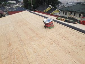 海老名市で屋根工事ディプロマットスター(カバー工法)実施画像10