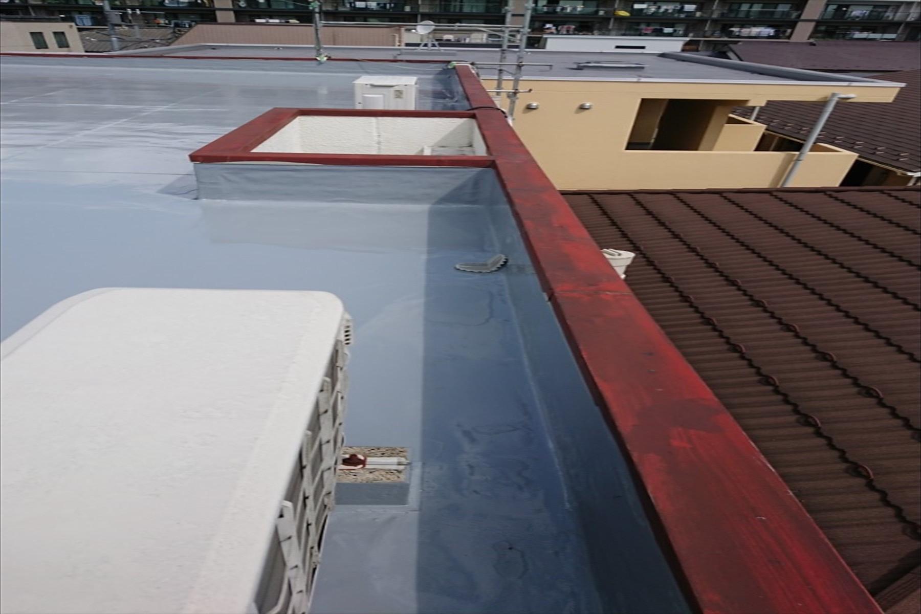 横浜市 雨漏りによる笠木交換工事画像12