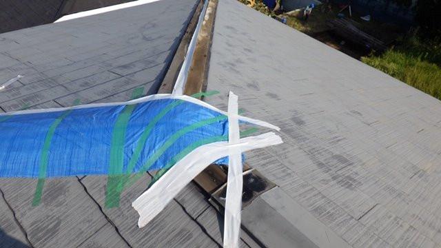 伊勢原市 台風被害による屋根工事(カバー工法)画像12