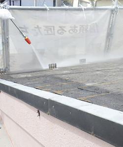 雨漏り散水調査01