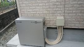 蓄電池の施工アフター画像