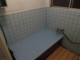 浴室手摺ビフォー画像