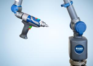 FAROカラーレーザー3Dスキャン7軸システムの導入