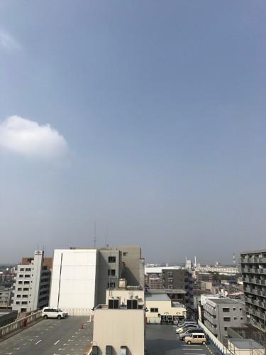 富士山見えない!!