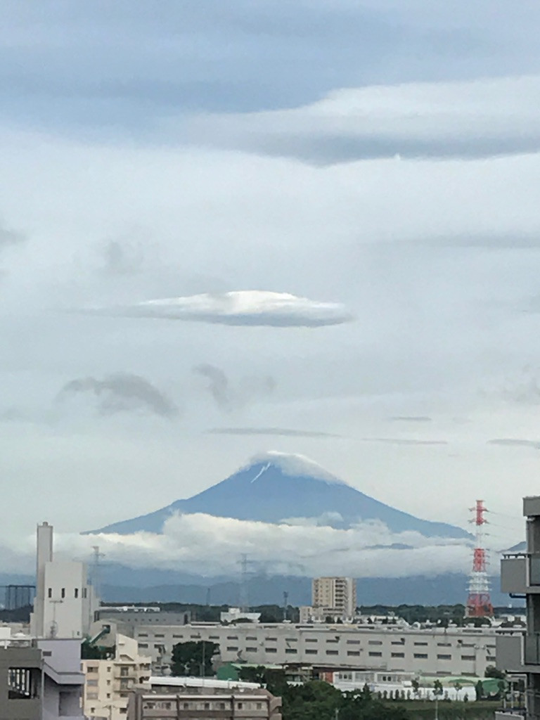 お久しぶりの富士山