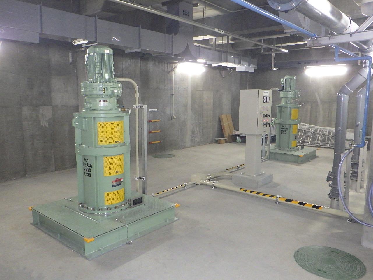浄化センター汚泥処理設備工事(静岡県)01