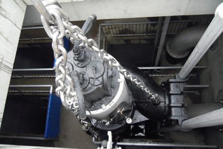 下水処理場非常用排水ポンプ機械設備工事(神奈川県)02
