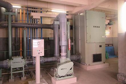 汚泥脱水機更新機械設備工事(新潟県)02