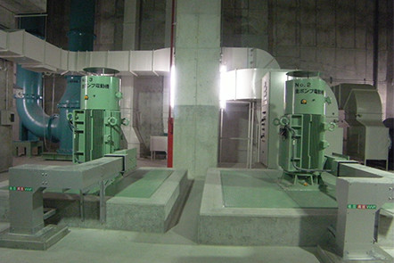 第一終末処理場主ポンプ機械設備工事(千葉県)02