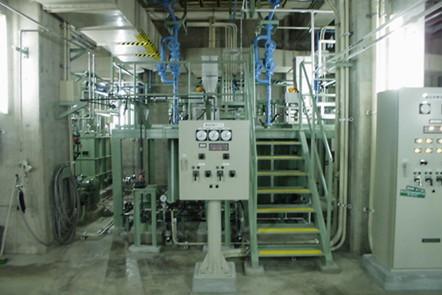 浄化センター汚泥濃縮機機械設備工事(愛媛県)02