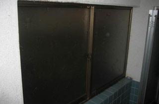 A様邸 浴室の窓 施工後 A様邸 浴室の窓 施工後