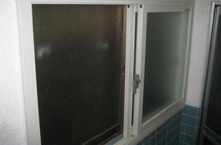 A様邸 浴室の窓 施工前 A様邸 浴室の窓 施工前