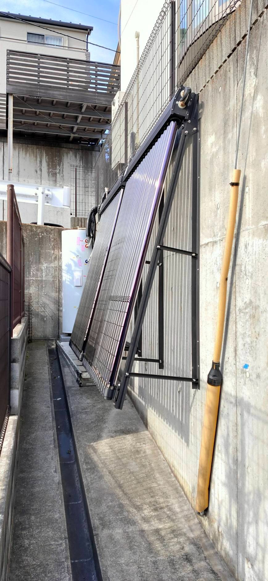 藤沢市A様邸 太陽熱温水器設置
