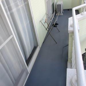 横浜市H邸様 ベランダ防水画像