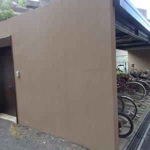 駐輪場塗装画像02