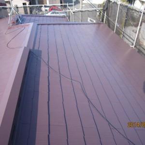 横浜市 S様邸 屋根塗装画像