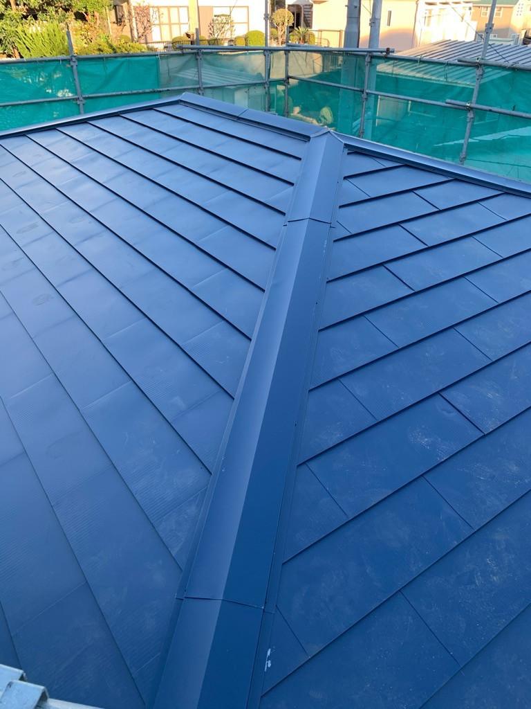 屋根カバー工法画像