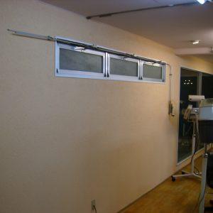 美容室内壁左官仕上げ画像