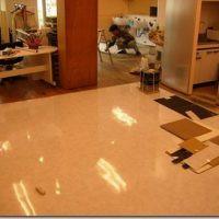 床タイル張り工事画像