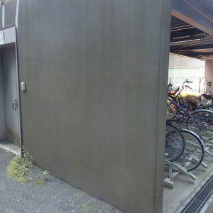 駐輪場塗装画像01