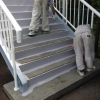 防塵塗装ノンスリップ工法画像
