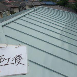 鉄板屋根画像
