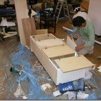家具工事画像