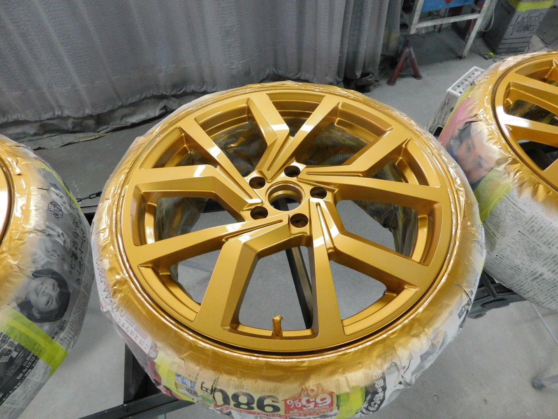 VW GOLF7 ホイール塗装