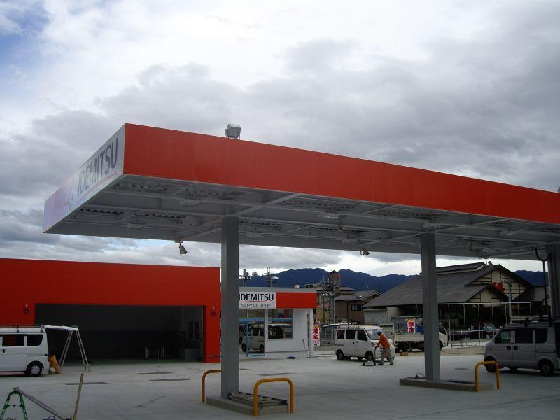 ガソリンスタンド照明設備