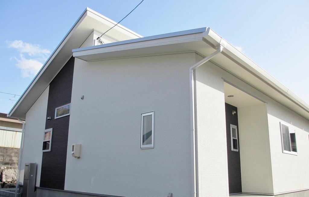 岡山市北区O様邸  勾配天井でひろびろ空間を感じる平屋の家イメージ