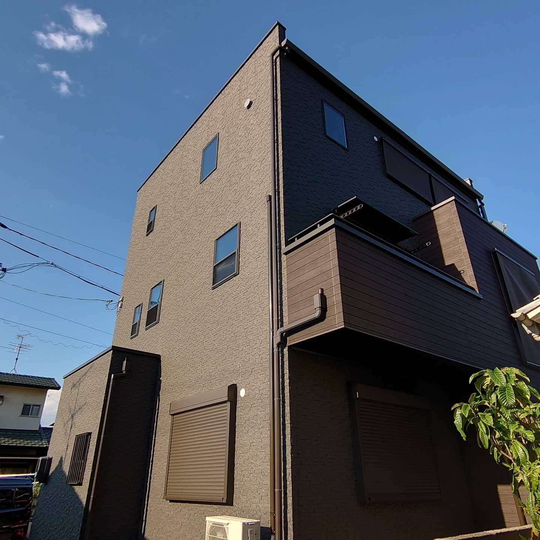 岡山市南区H様・F様邸 二世帯三階建住宅イメージ