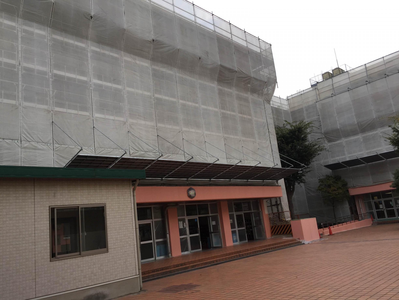 東京都葛飾区某中学校改修工事 -before