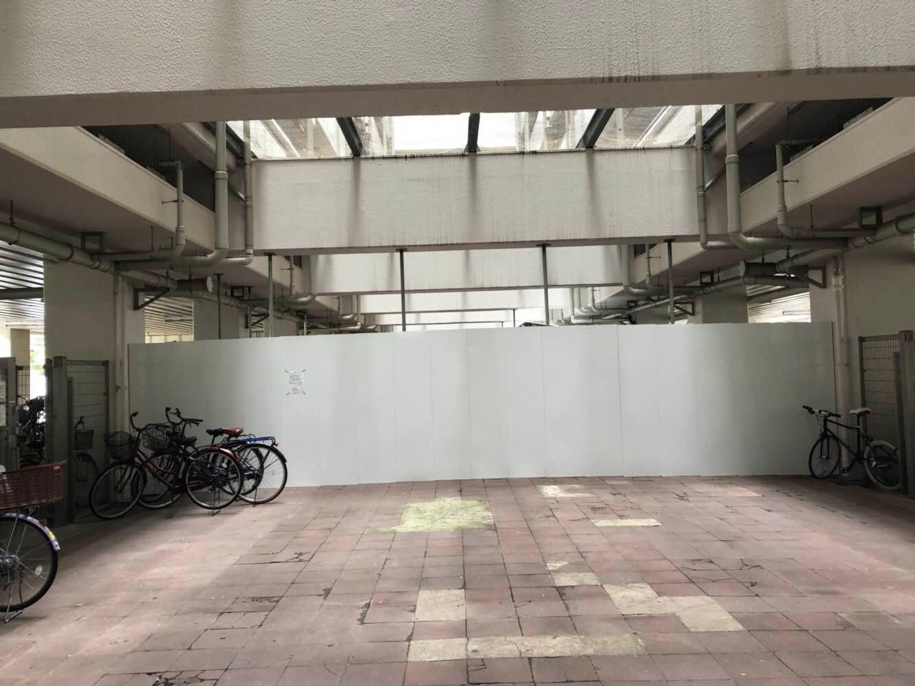 某集合住宅仮囲い:江東区 -after