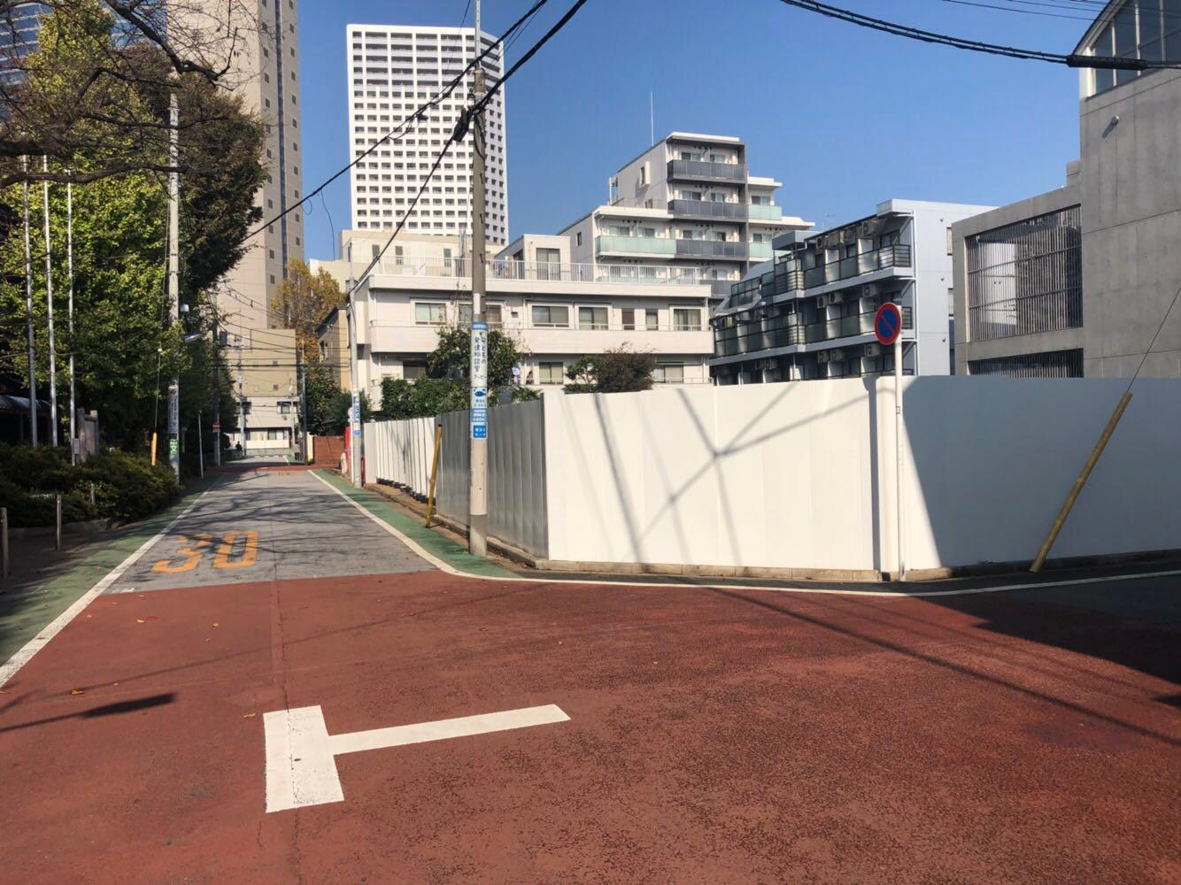 某新築工事仮囲い:練馬区 -before