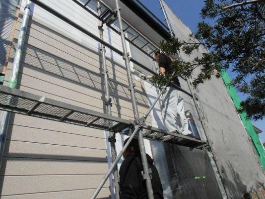 外壁:下塗 水性シリコンエポサーフ