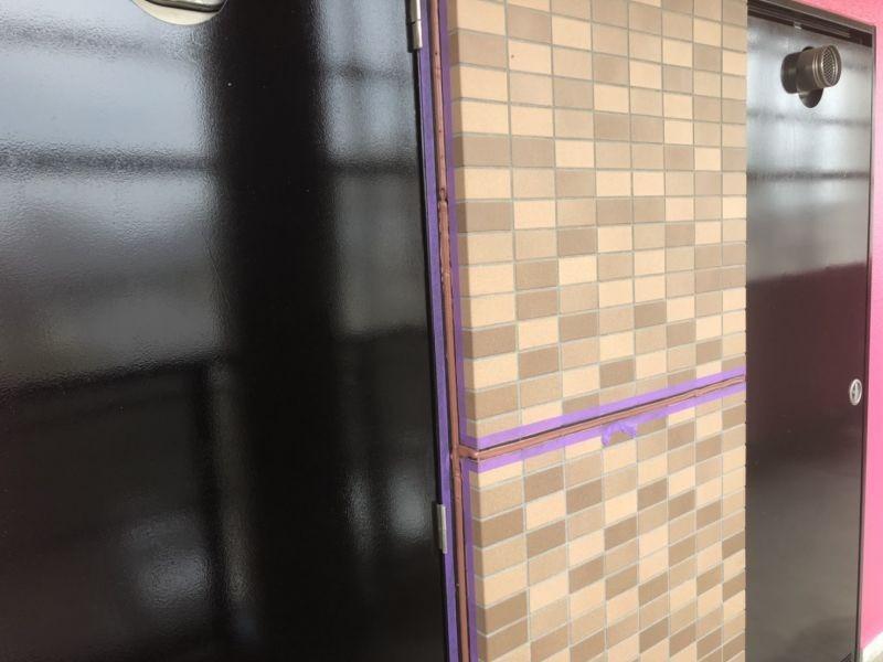 草加市にあるアパートの外壁改修工事をおこないました R1.07.20