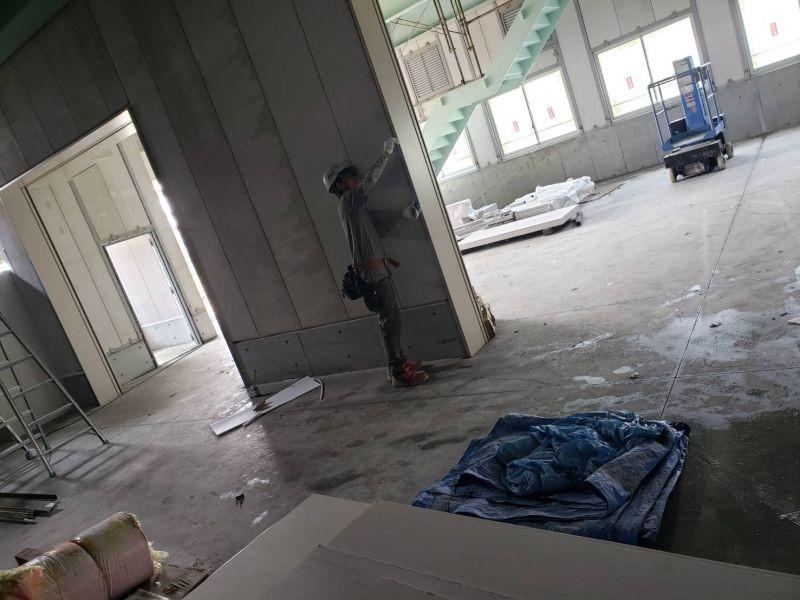 工場の改修工事を行いました R01.07.25