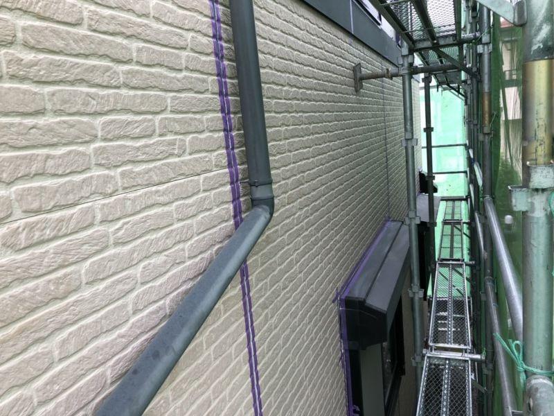 住宅の外壁改修工事を行いました R01.07.25