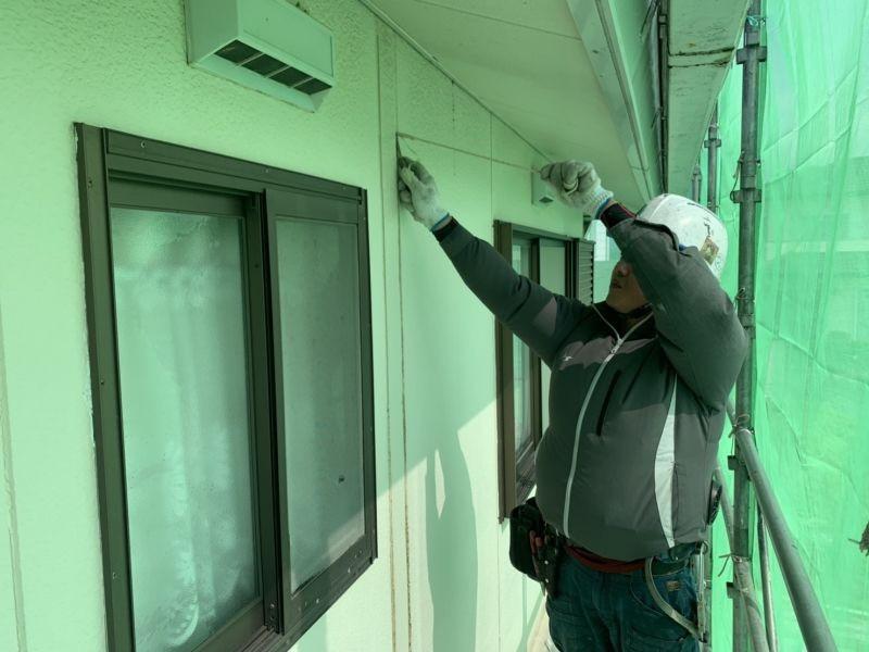 住宅の外壁改修工事を行いました R1.0725